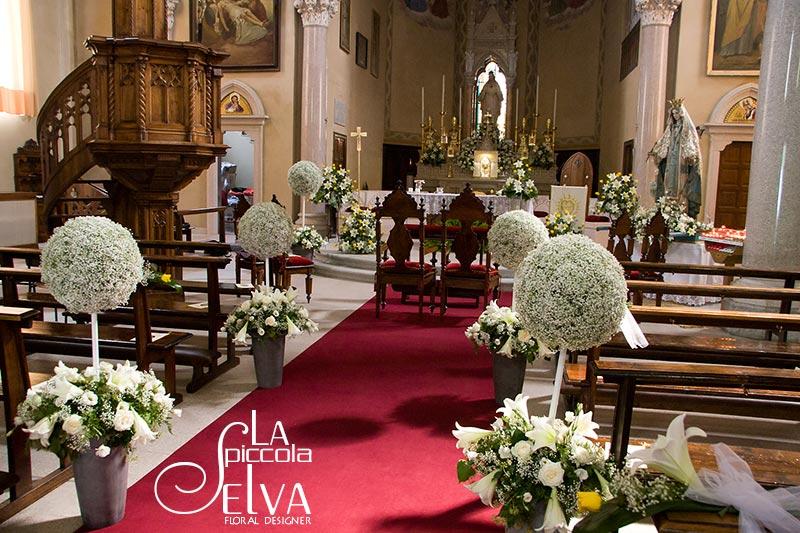 Addobbi Per Matrimonio In Chiesa : Addobbi floreali per cerimonie di matrimonio a stresa