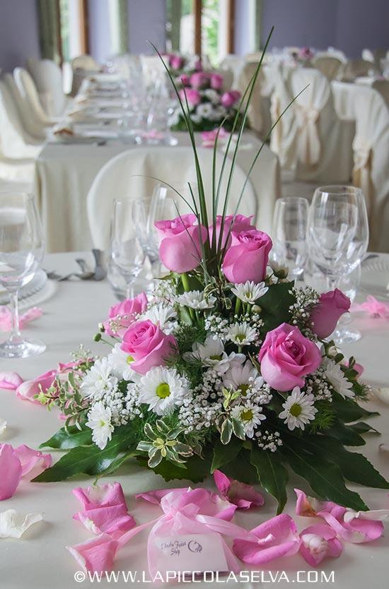 fiorista matrimonio Villa Ortea