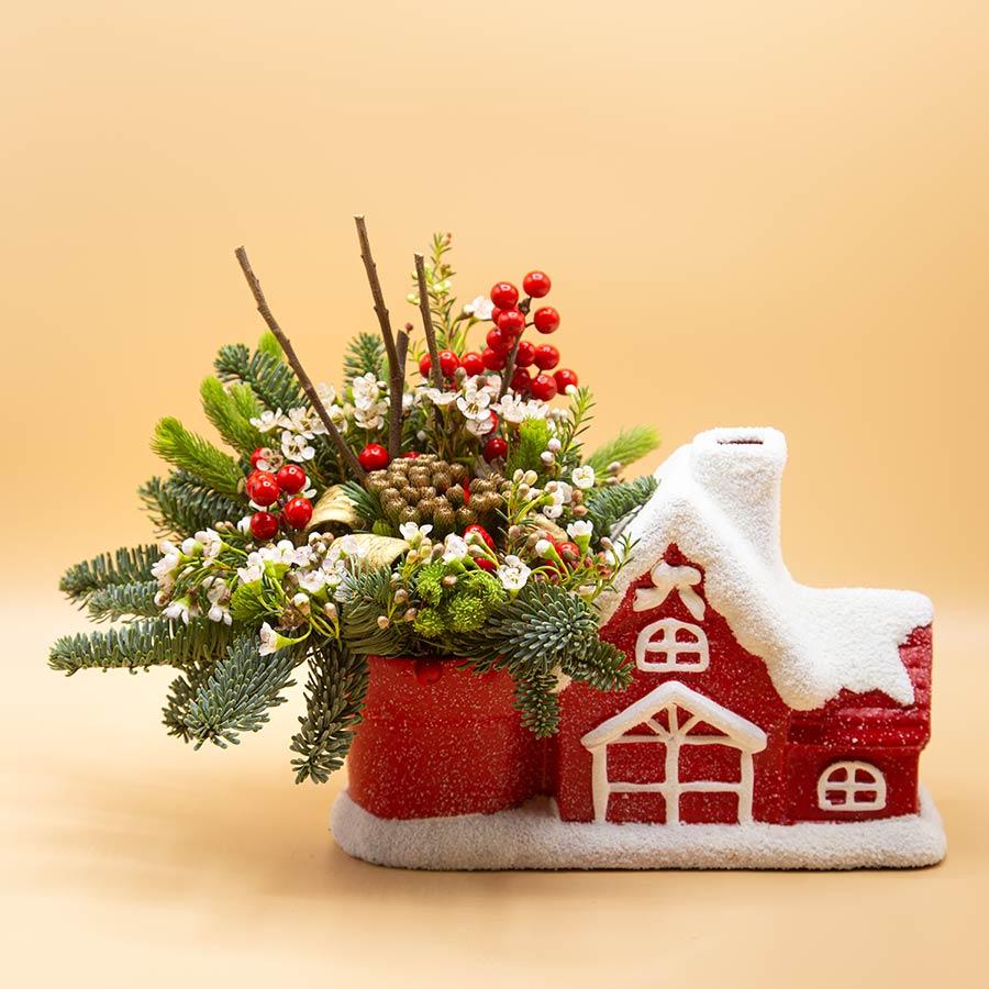 Casetta ilex - Idee regalo per Natale