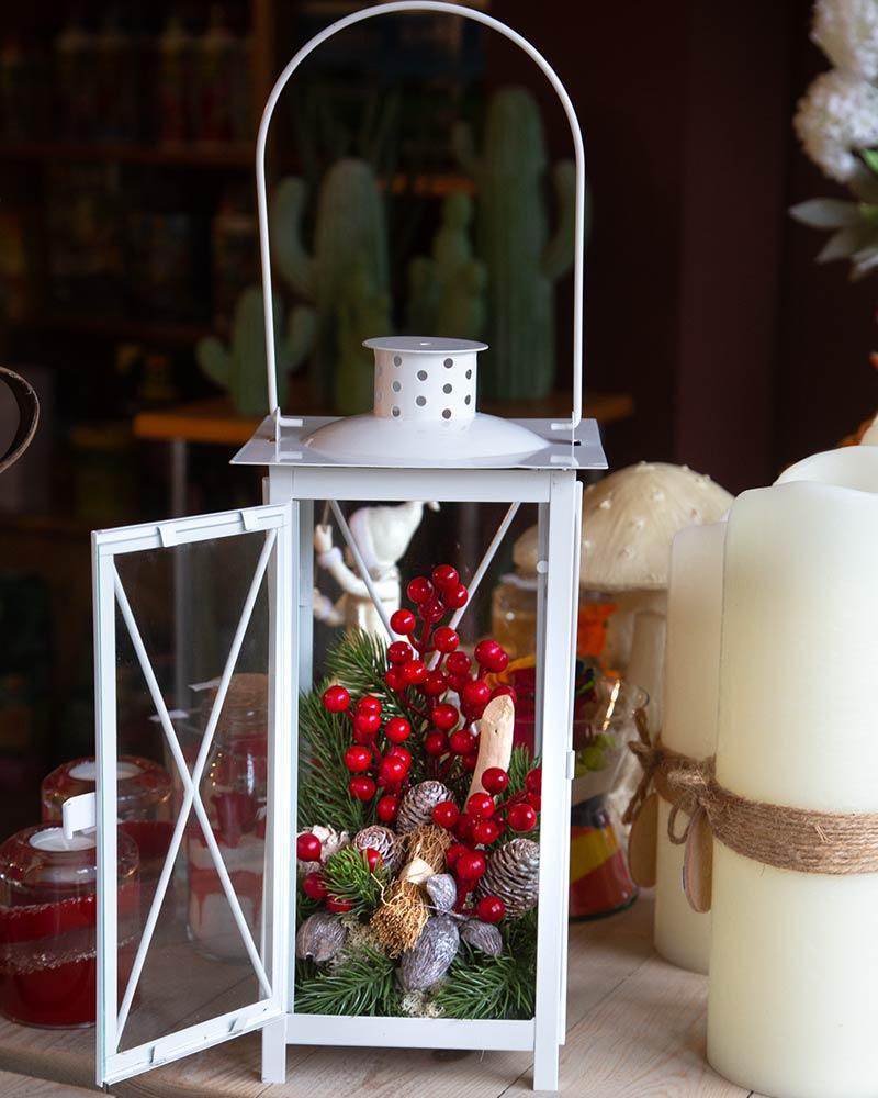 Lanterna vintage Bacche di Bosco