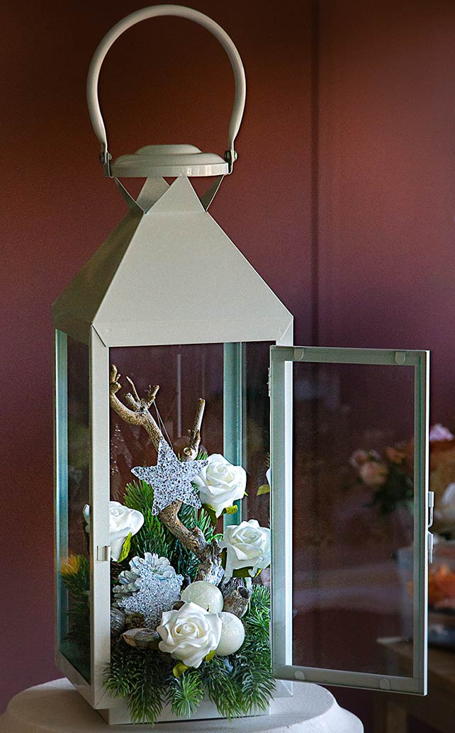 Lanterna vintage Boschetto brillante