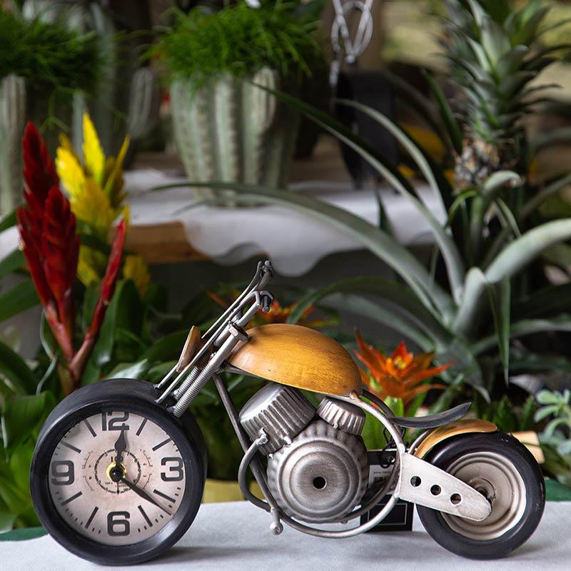 Orologio motocicletta vintage
