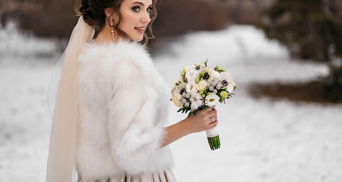 Bouquet invernali, matrimonio d'inverno al Lago d'Orta