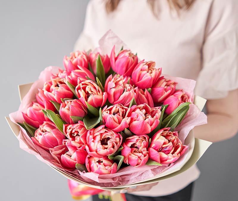 Bouquet di tulipani per San Valentino