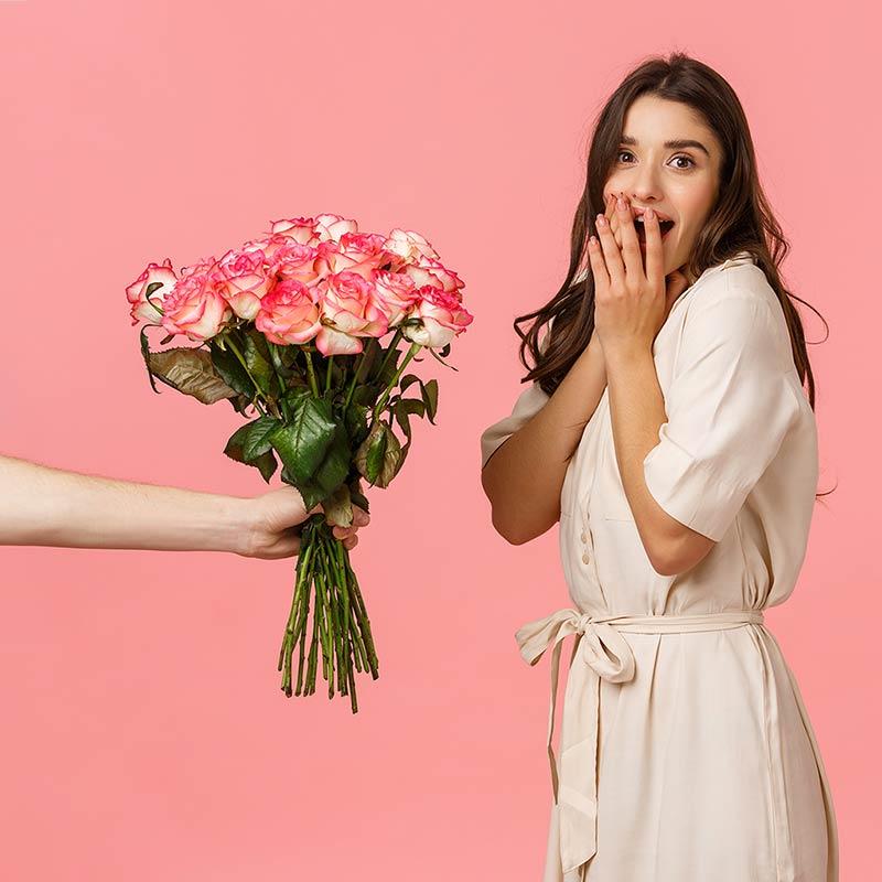Servizio consegna fiori a domicilio per San Valentino
